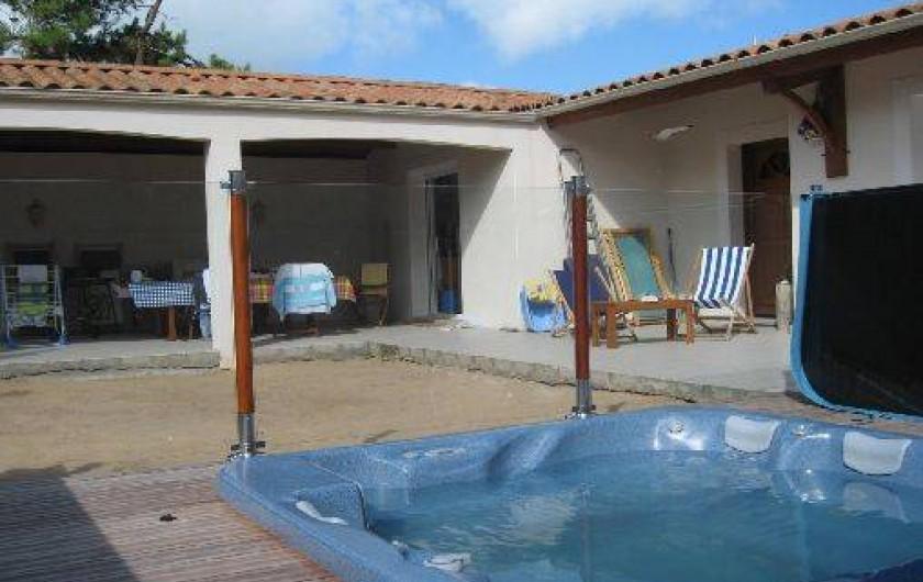 Location de vacances - Maison - Villa à La Tranche-sur-Mer