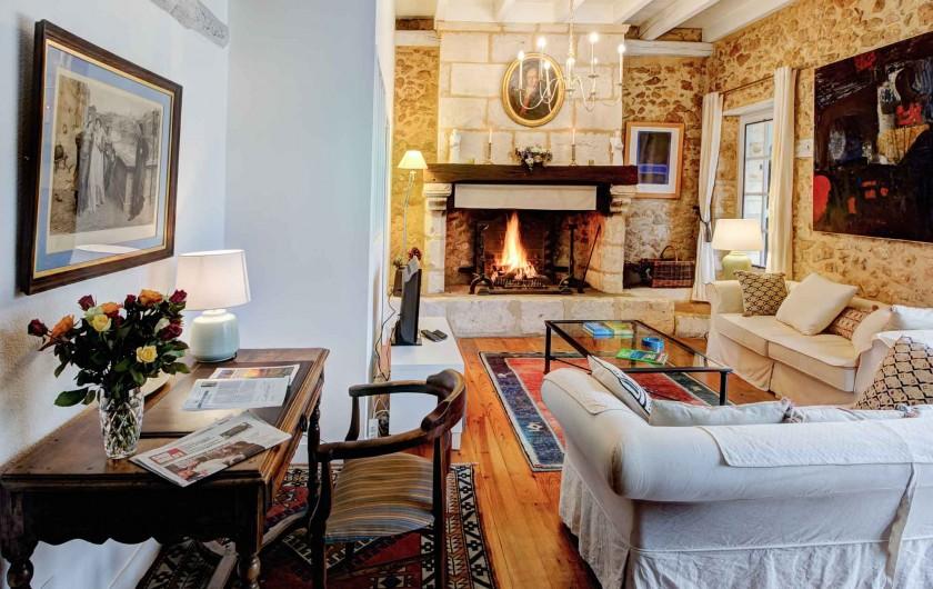 Location de vacances - Gîte à Issac - la chambre double