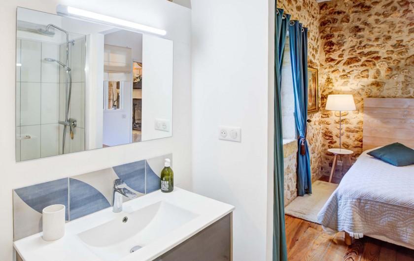 Location de vacances - Gîte à Issac - la chambre à 3 lits