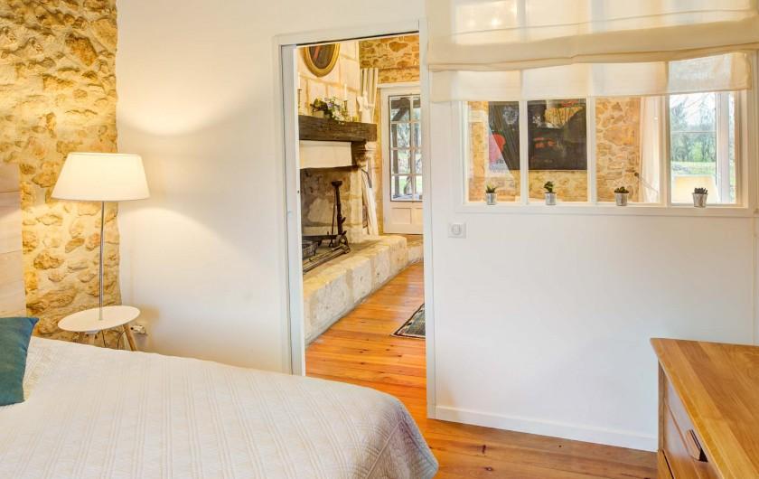 Location de vacances - Gîte à Issac - la chambre à 2 lits