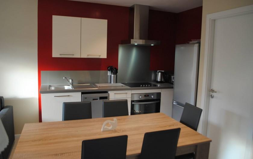 Location de vacances - Appartement à Colmar - Cuisine gîte de charme (appartement)