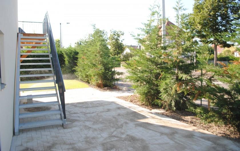 Location de vacances - Appartement à Colmar - accès étage