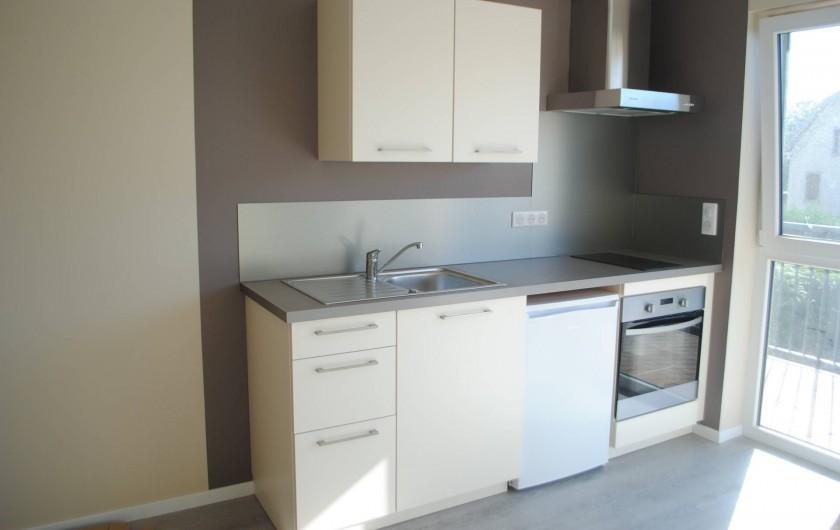 Location de vacances - Appartement à Colmar - cuisine Quiet Corner (studio)