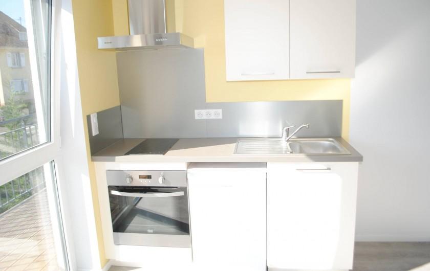 Location de vacances - Appartement à Colmar - cuisine Cosy Corner (studio)