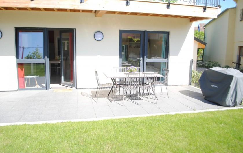 Location de vacances - Appartement à Colmar - terrasse appartement
