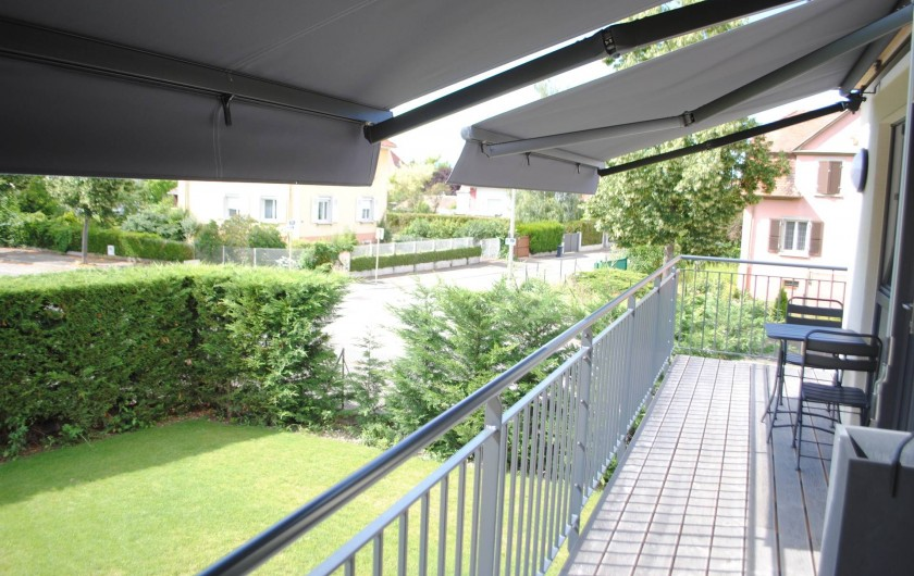 Location de vacances - Appartement à Colmar - balcon studios