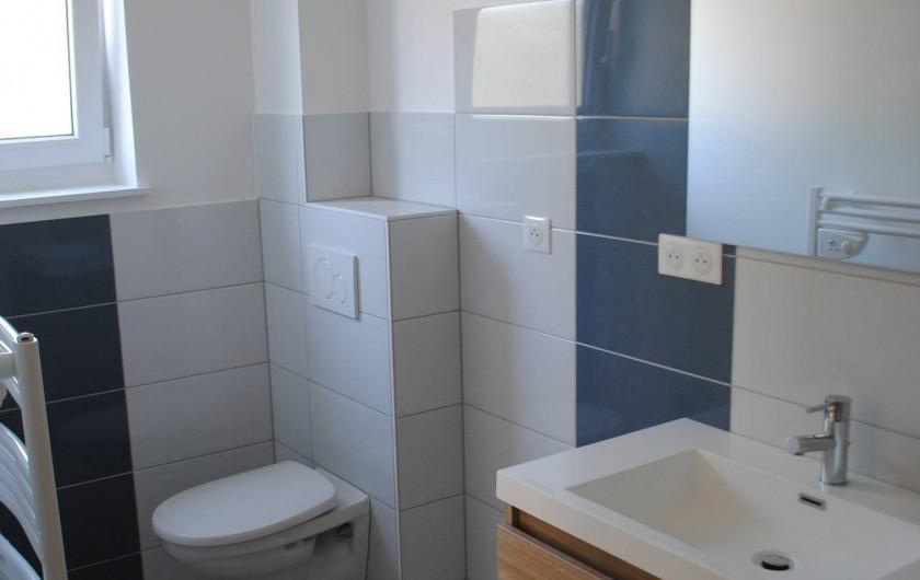 Location de vacances - Appartement à Colmar - salle de bain