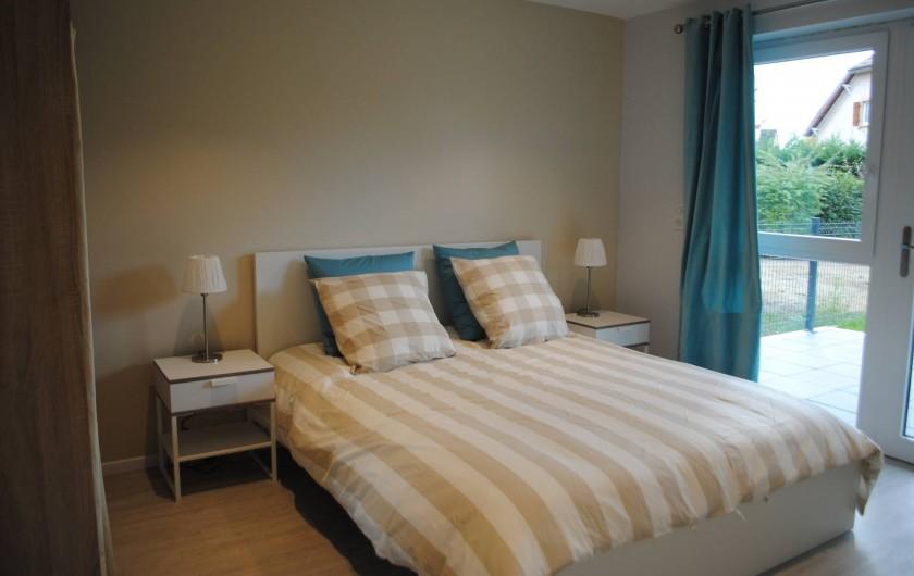 Location de vacances - Appartement à Colmar - chambre 1 appartement