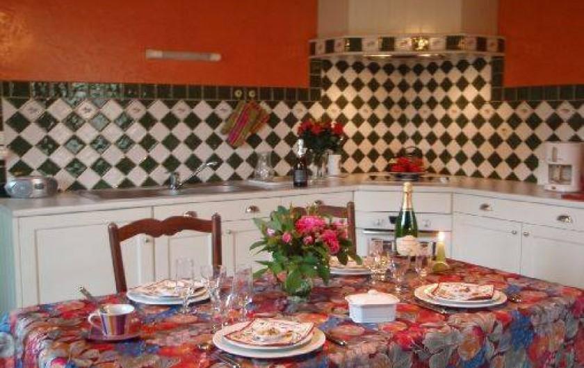 Location de vacances - Gîte à Saint-Rémy-la-Varenne - Cuisine intégrée