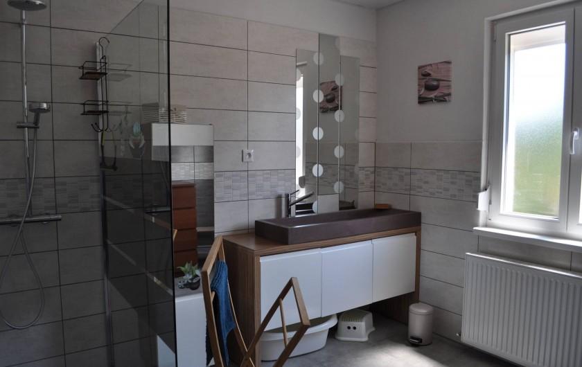 Location de vacances - Maison - Villa à Munster - Salle de bain (RDC)