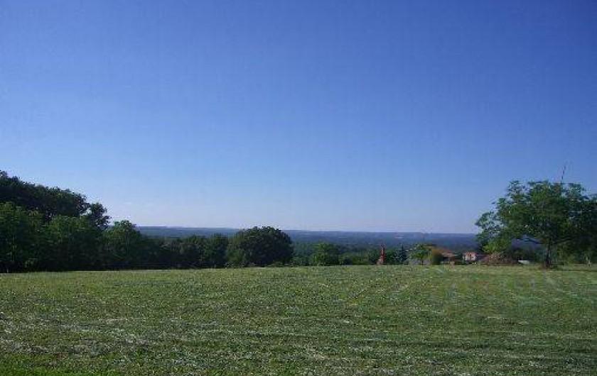 Location de vacances - Gîte à Saint-Pantaly-d'Ans - Superbe vue panoramique