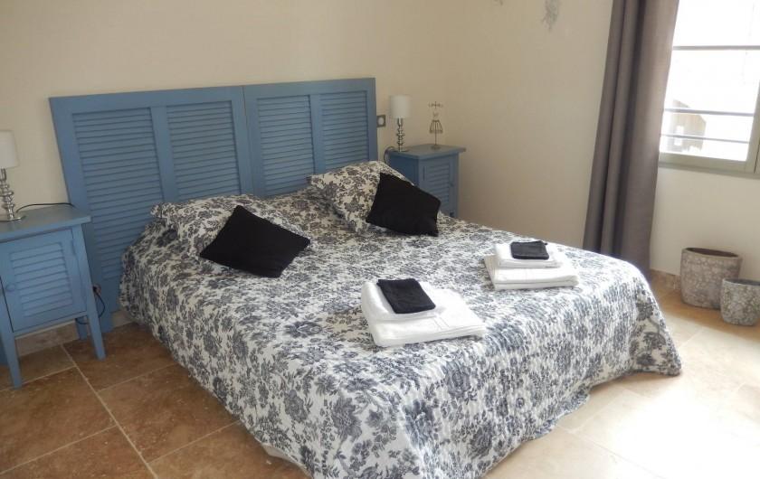 Location de vacances - Villa à La Redorte - Chambre 2, à l'étage