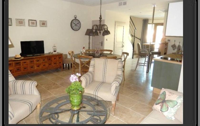 Location de vacances - Villa à La Redorte - Coin salon