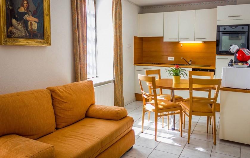 Location de vacances - Appartement à Bénodet - Cuisine appartement La Dauphine