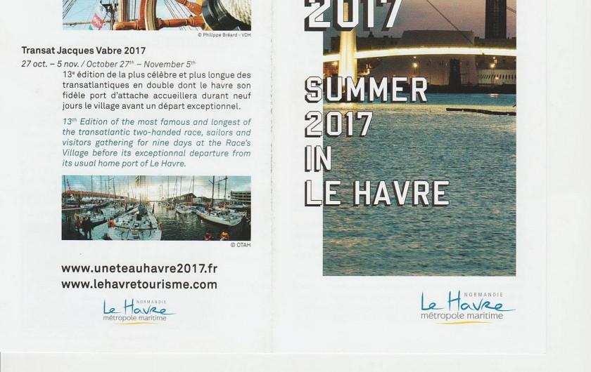 Location de vacances - Maison - Villa à Étretat - Le Havre fête ses 500 ans