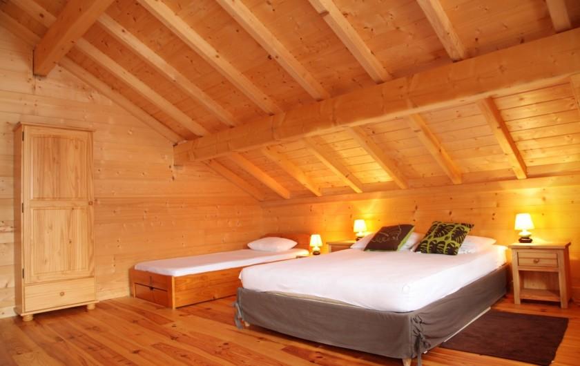 Location de vacances - Chalet à Le Haut-Bréda - Chambre 3