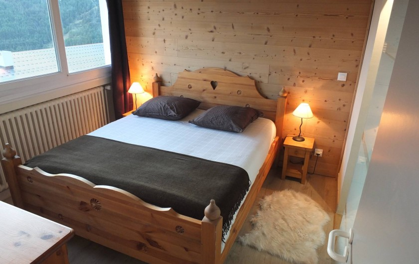 Location de vacances - Appartement à L'Alpe d'Huez - SUITE PARENTALE VUE1