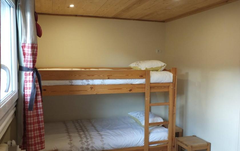 Location de vacances - Appartement à L'Alpe d'Huez - CHAMBRE FAMILIALE VUE2