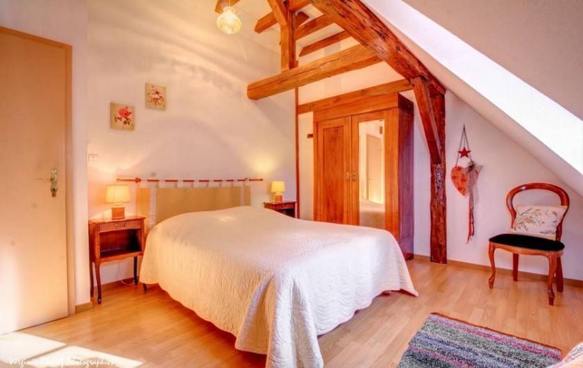 Location de vacances - Villa à Jebsheim - Une troisième chambre avec un lit double..