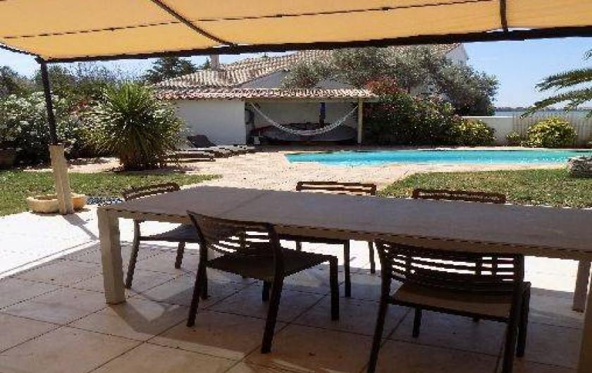 Location de vacances - Villa à Pérols - terrasse