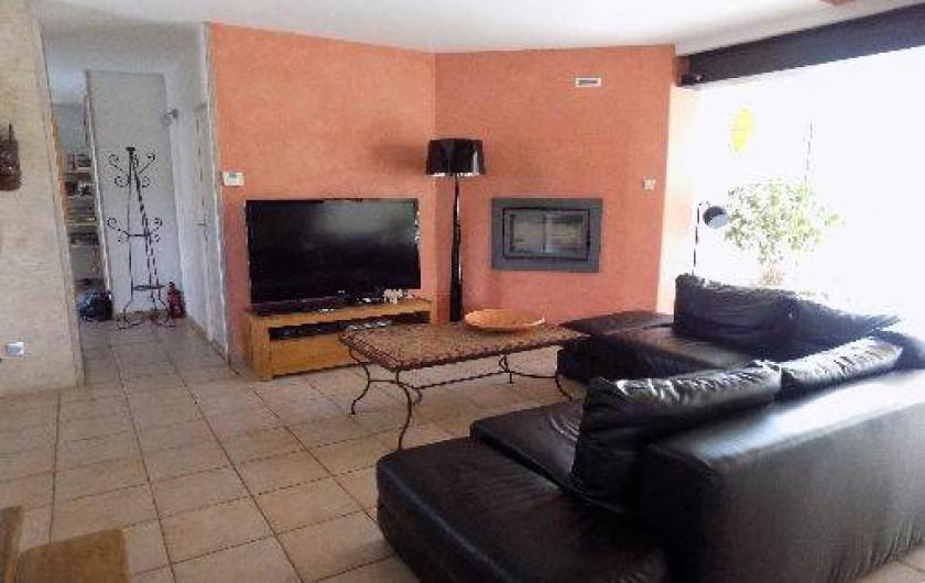 Location de vacances - Villa à Pérols - salon