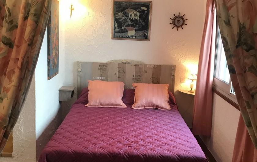 Location de vacances - Villa à Anthéor - Chambre du Rez de jardin.