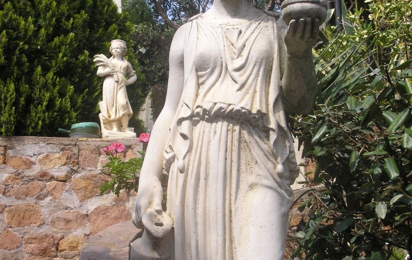 Location de vacances - Villa à Anthéor - Jardin