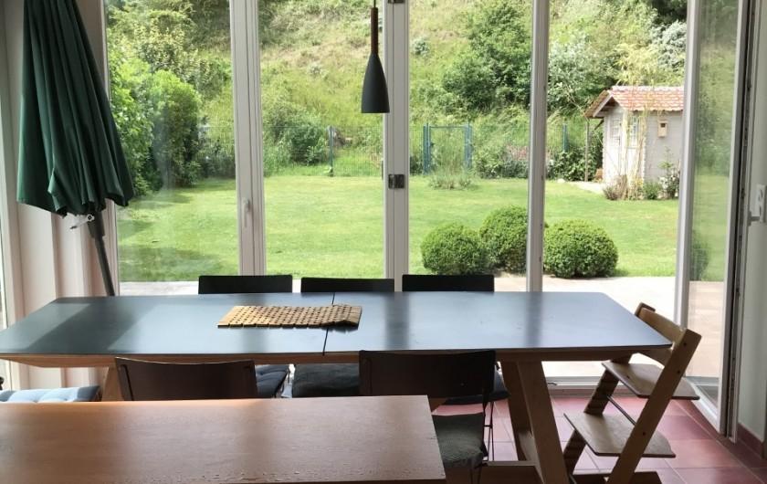 Location de vacances - Villa à Le Touquet-Paris-Plage - coin repas cuisine