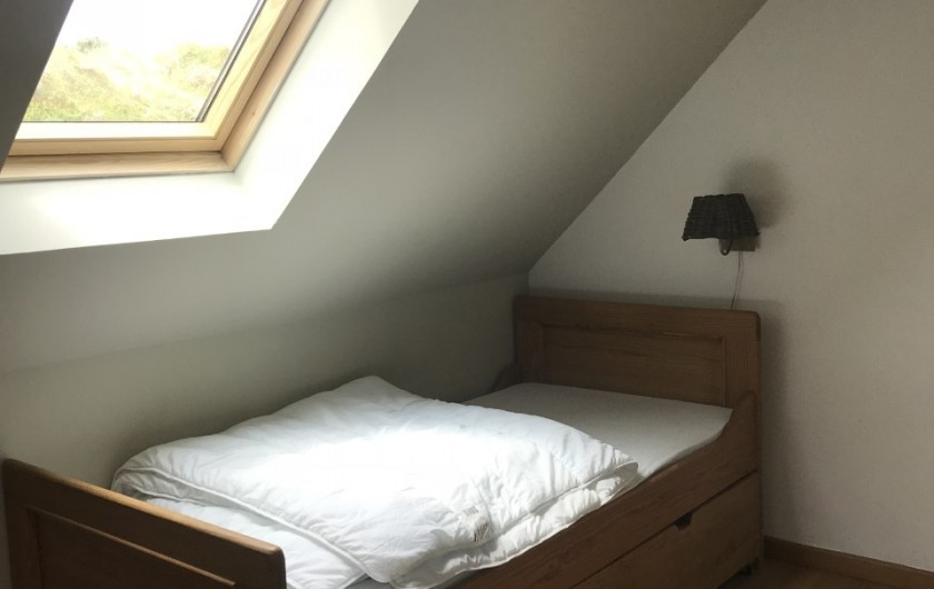 Location de vacances - Villa à Le Touquet-Paris-Plage - chambre lit simple