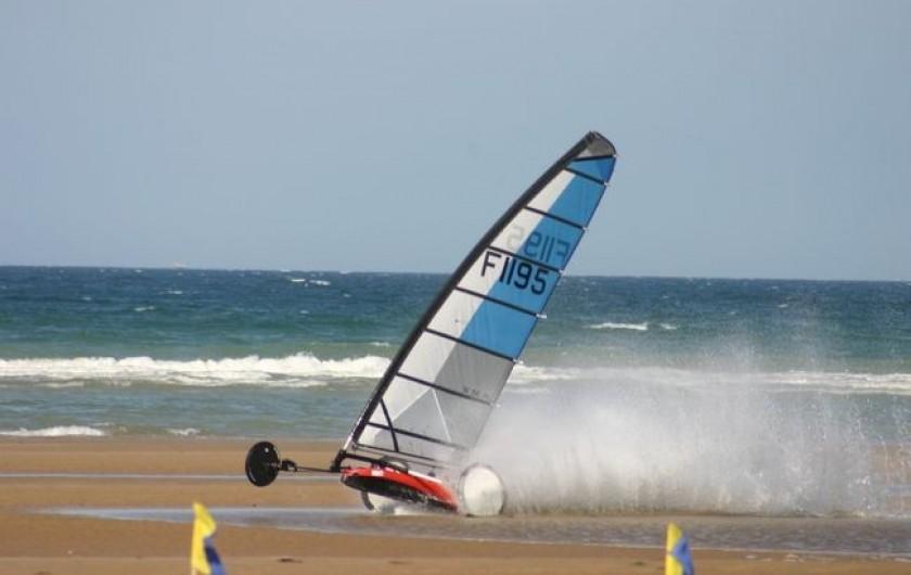 Location de vacances - Villa à Le Touquet-Paris-Plage - club de chars à voile sur la plage