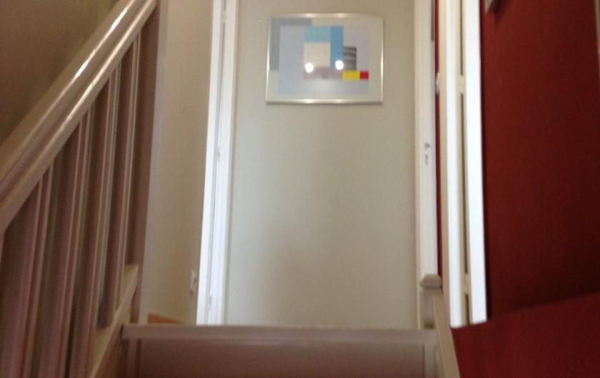 Location de vacances - Villa à Le Touquet-Paris-Plage - escalier