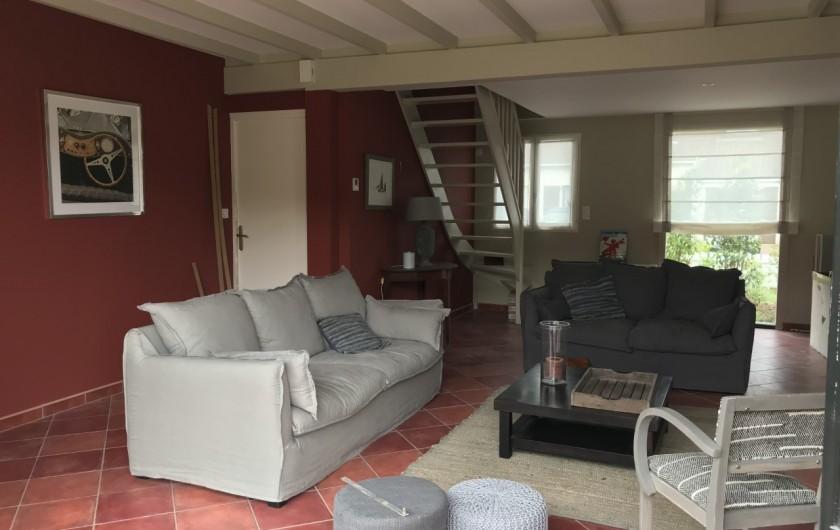 Location de vacances - Villa à Le Touquet-Paris-Plage - séjour traversant