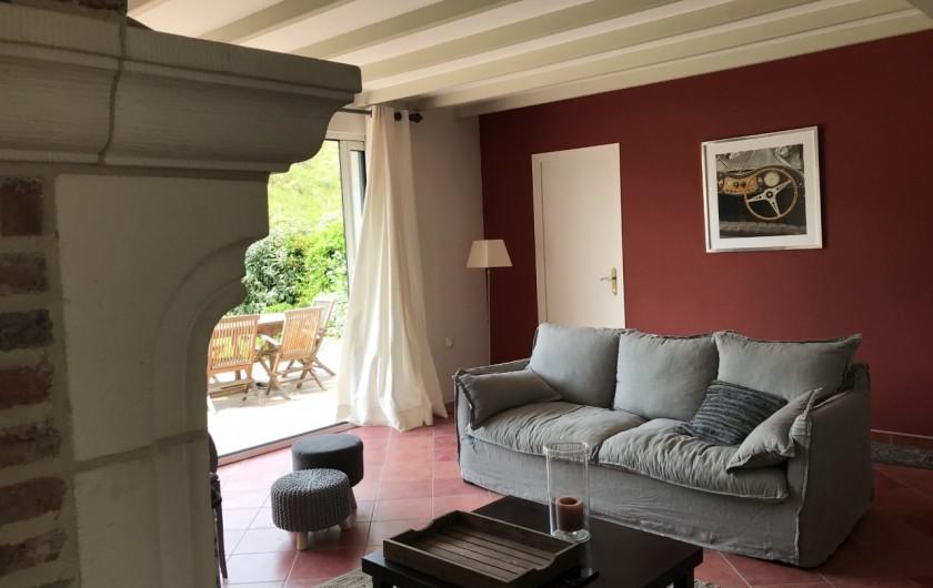 Location de vacances - Villa à Le Touquet-Paris-Plage - séjour sur jardin