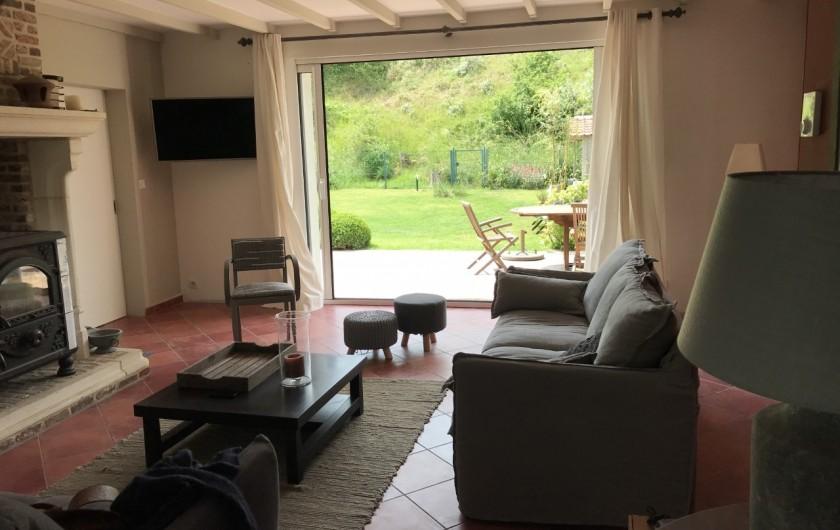 Location de vacances - Villa à Le Touquet-Paris-Plage - cheminée TV wifi