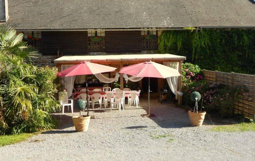 Location de vacances - Gîte à Haut-de-Bosdarros - terrasse