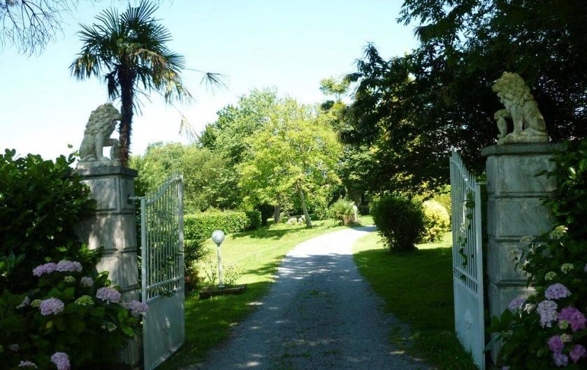 Location de vacances - Gîte à Haut-de-Bosdarros - entrée