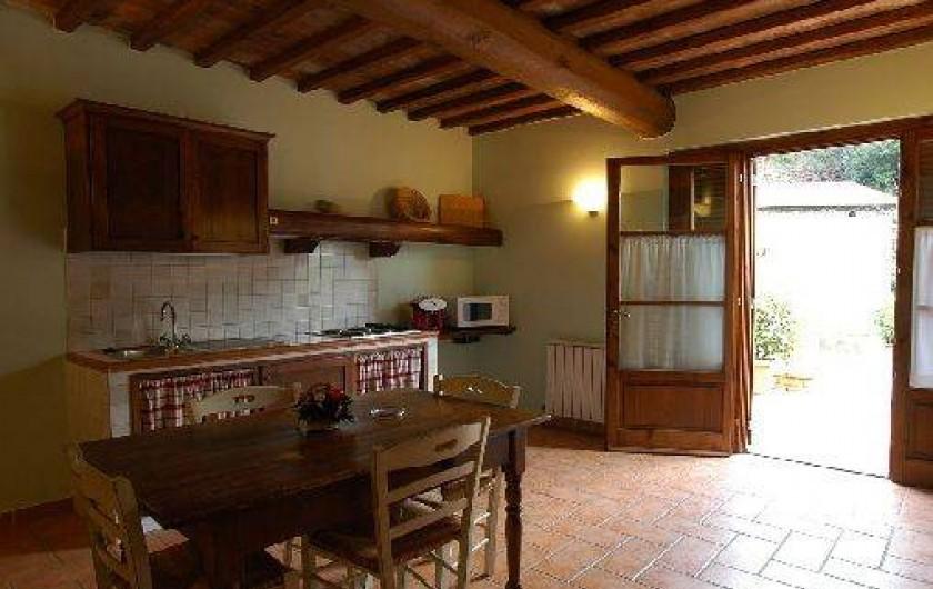 Location de vacances - Appartement à Loro Ciuffenna