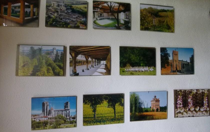 Location de vacances - Maison - Villa à Ornézan - photo de tous les coin à visiter dans le gers