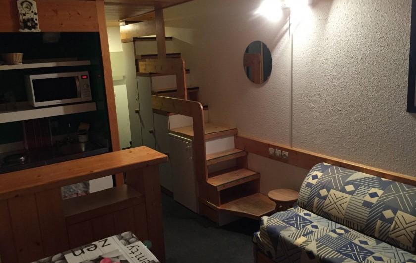 Location de vacances - Appartement à Bourg-Saint-Maurice - Séjour