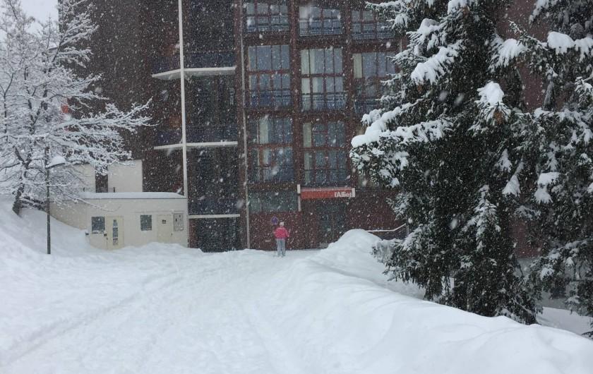 Location de vacances - Appartement à Bourg-Saint-Maurice - Résidence Alliet