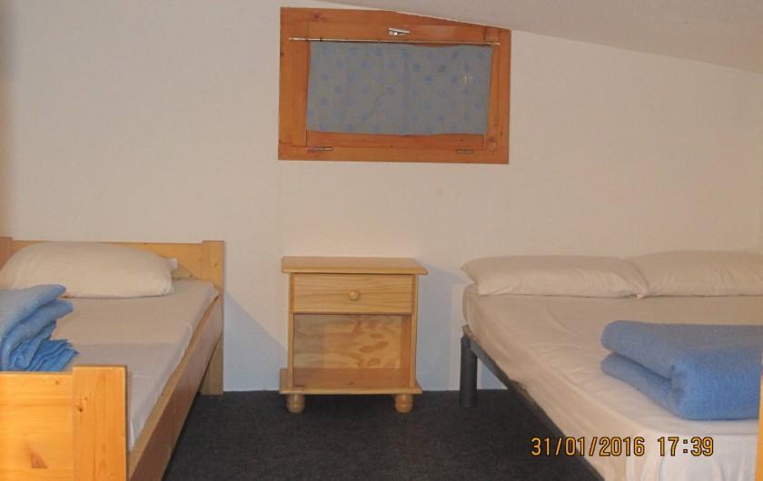 Location de vacances - Appartement à Bourg-Saint-Maurice - chambre 1 en palier