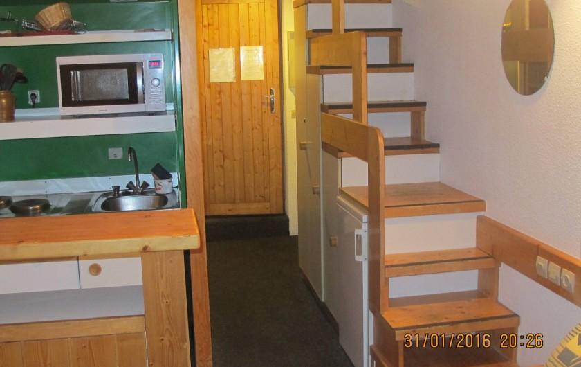Location de vacances - Appartement à Bourg-Saint-Maurice - Entrée