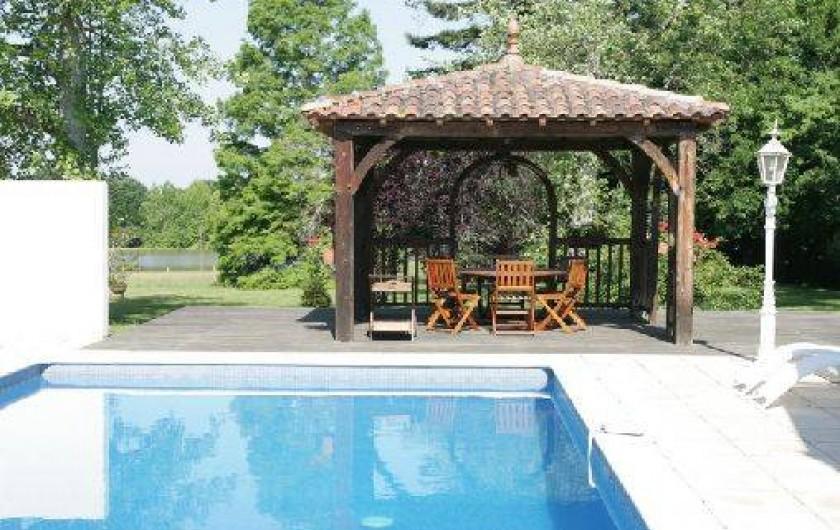 Location de vacances - Gîte à Beylongue - piscine