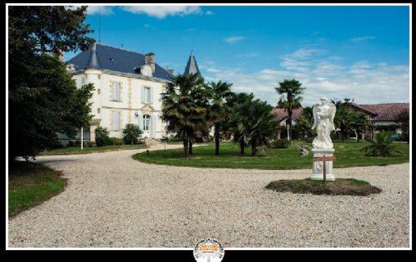 Location de vacances - Gîte à Beylongue - château