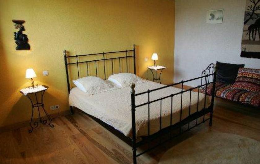 Location de vacances - Gîte à Beylongue - chambre rez