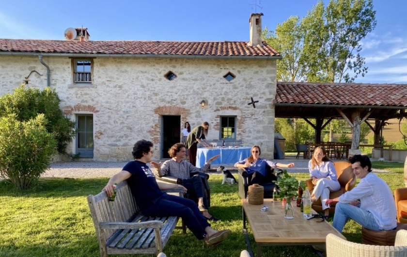 Location de vacances - Maison - Villa à Marzens - l'heure de l'apéro à Ségur