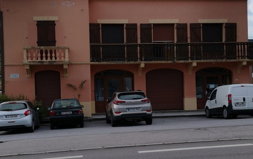 Location de vacances - Appartement à Gérardmer - IMMEUBLE