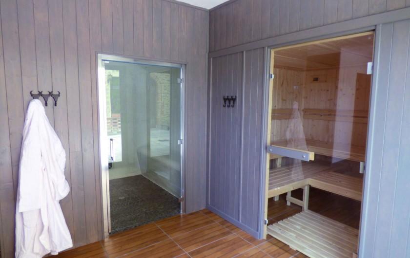 Location de vacances - Hôtel - Auberge à Saint-Christol-lès-Alès - Sauna/Hammam