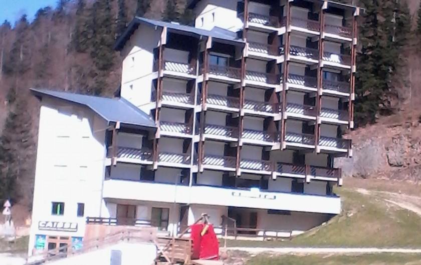 Location de vacances - Studio à Col de Rousset