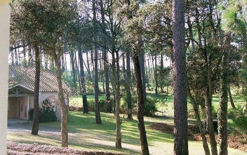 Location de vacances - Appartement à Moliets-et-Maa - Vue depuis la terrasse